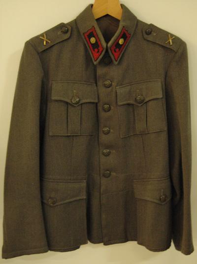 10709 Asetakki M 36, rannikkotykistö, majuri