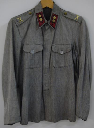 10710 Kesäpusero M 36, rannikkotykistö, everstiluutnantti