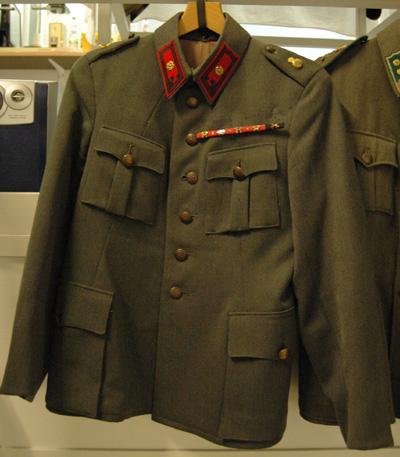 10720 Asetakki M 36, tykistö, majuri