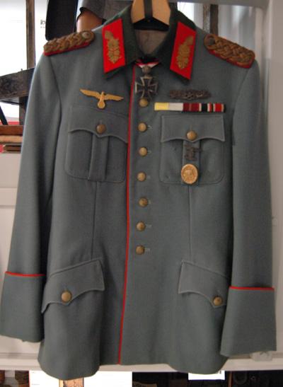 10977 Asetakki, kenraali, saksalainen, replika