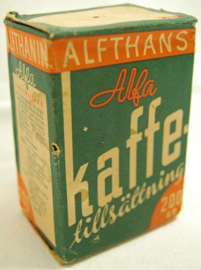 10188 Alfa kahvinlisäke-pakkaus