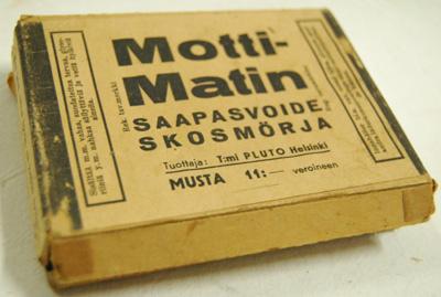 10193 Motti-Matin saapasvoide-pakkaus