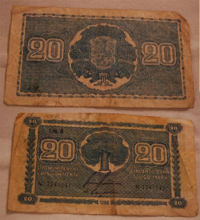10471 Kahdenkymmenen markan seteli