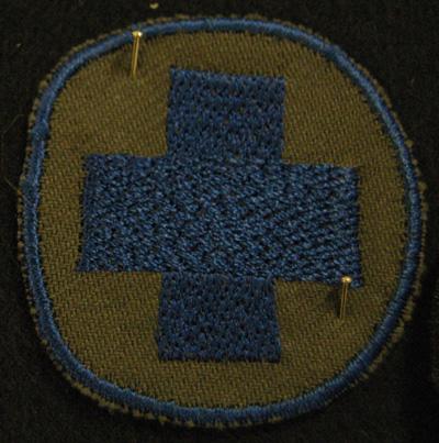 10588 Koulutusmerkki, sairaanhoitoapulainen, repro